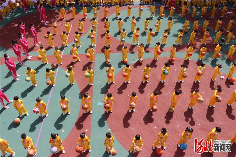 河北邢台:快乐运动,健康成长