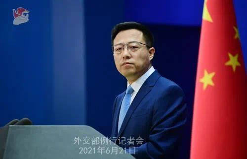 美国拿国际孤立吓唬中国 赵立坚:赤裸裸的讹诈