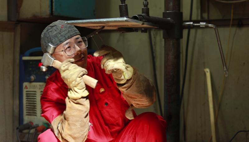 """""""青年焊王""""王天明: 伤疤是焊工最好的徽章"""
