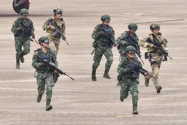 """港台腔:民进党乞求美""""协防台湾""""是危险的挑衅"""