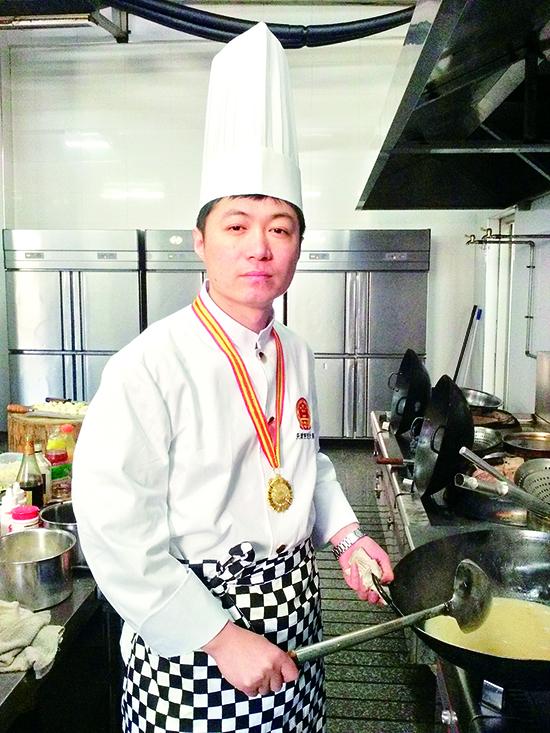 23年磨炼 择菜工成为全国名厨