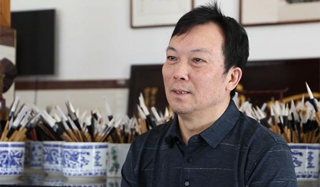 周鹏程:毛笔制作技艺传承人 一支毛笔承千年