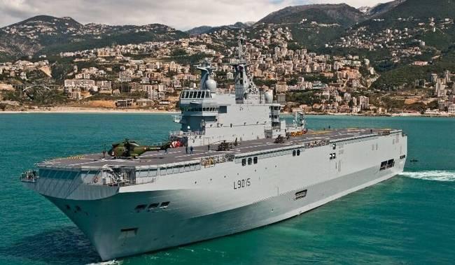 印度海军寻求4艘新型两栖攻击舰 要载反舰导弹