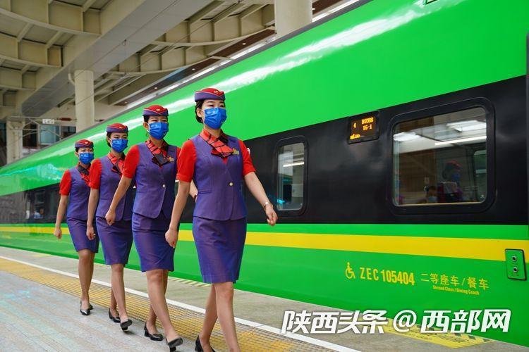 """""""绿巨人""""来了!商洛迈入动车时代 陕西11个方向开行""""复兴号"""""""