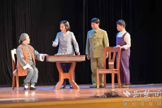 廉政楚剧《钱瑛和她的亲人们》成功上演,近期将在咸宁6个县市区巡演