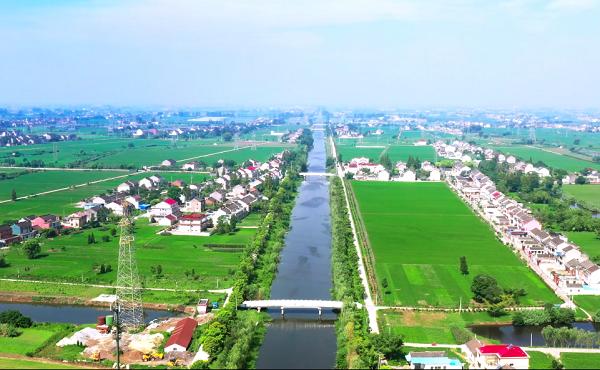泰兴:活水工程为乡村振兴添彩