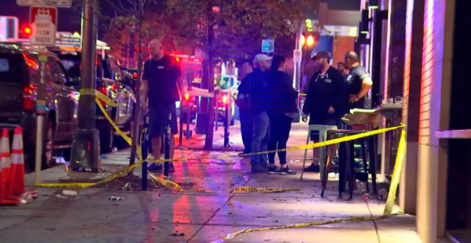 美国明州圣保罗市发生大规模枪击案致1死14伤
