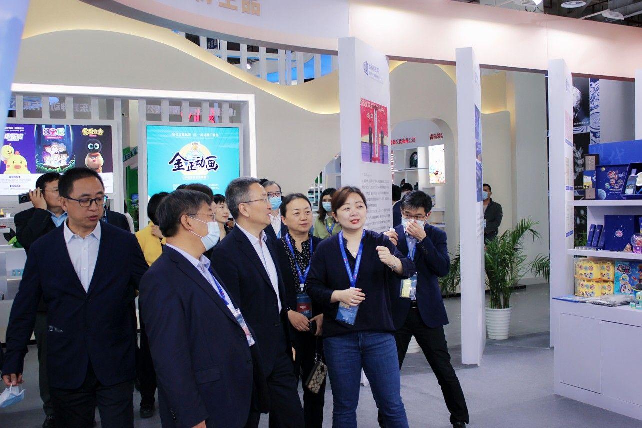 陕西馆精彩亮相第八届中国国际版权博览会