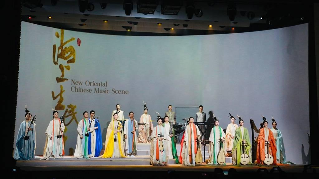 上海驻场演出又添新成员 国风音乐现场《海上生民乐》迎来首秀